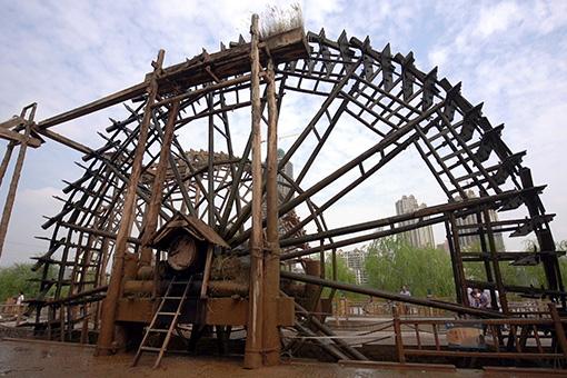 兰州黄河大水车