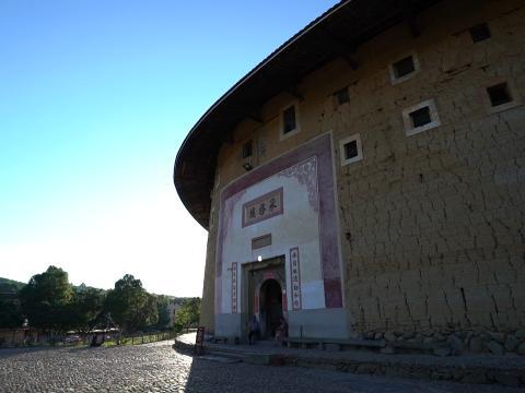被誉为「土楼王」的承启楼。