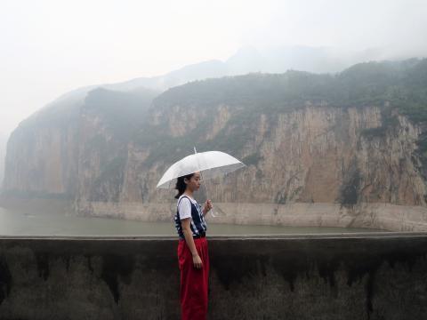 Sabrina@瞿塘峡