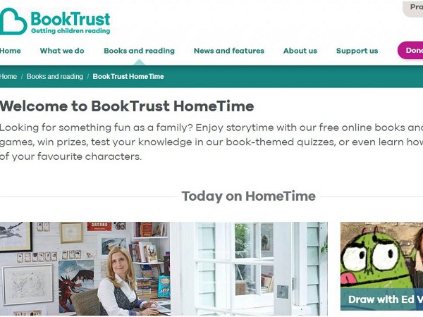 BookTrust HomeTime