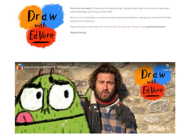 Draw with Ed Vere