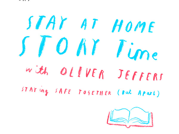 Stay At Home Story Time with Oliver Jeffers