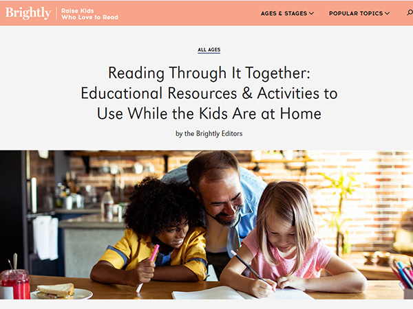 Educational Resources and Activities to Use While Kids Are at Home
