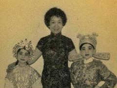 李龙自小受母亲薰陶,爱上粤剧。(《大锣大鼓好戏派》图片)