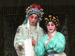 李龙曾与南凤组成「龙嘉凤剧团」。(《大锣大鼓好戏派》图片)